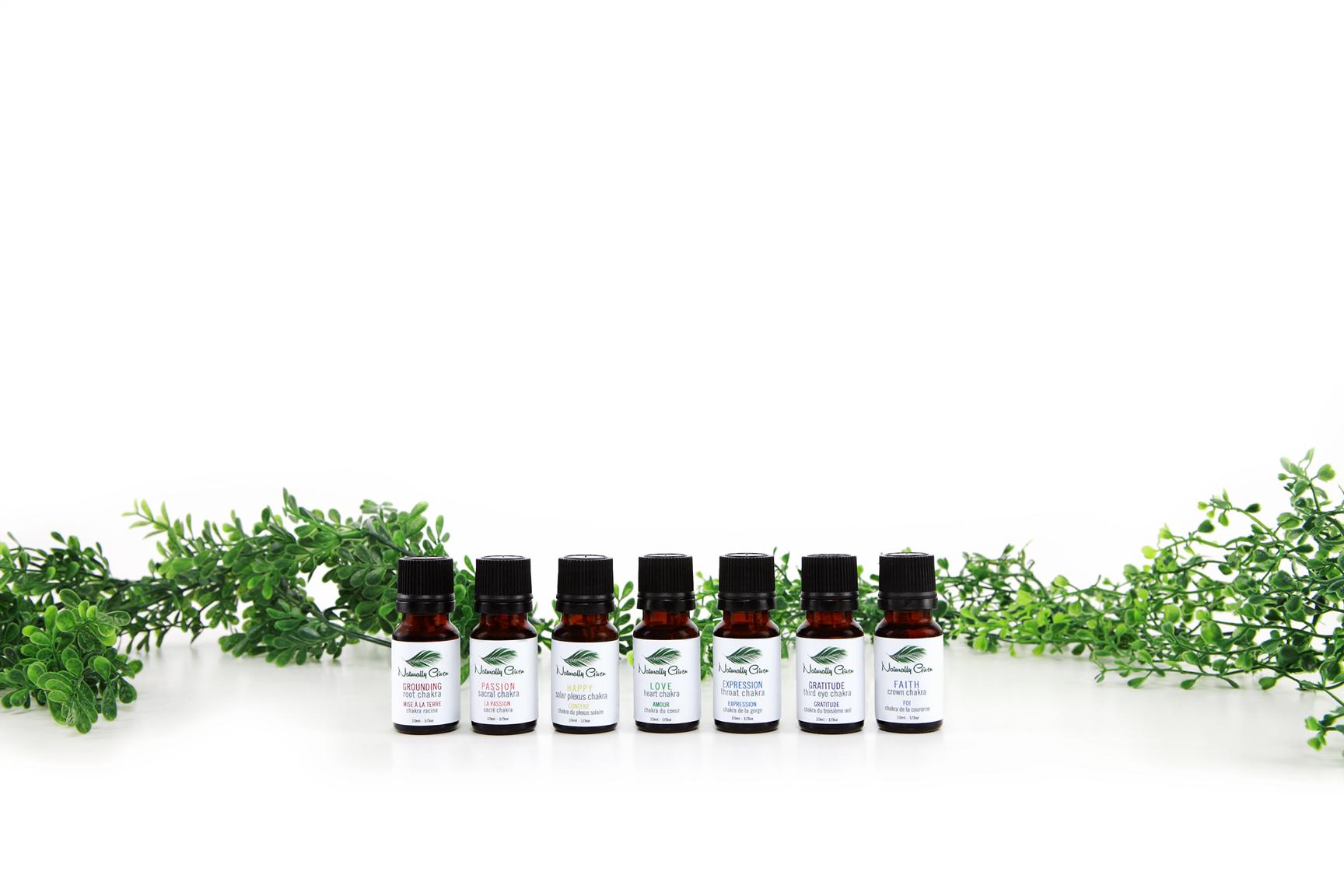 PURE Aromatherapy Chakra Set